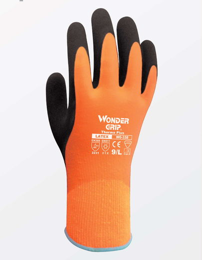 WONDER GRIP WG-338 Thermo Plus työkäsine (12 paria/nippu)
